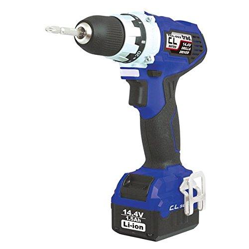 生活日用品 DIYグッズ工具 充電式ドリル&ドライバー(DIY用) TCL-002 14.4V ブルー B07565XC4M
