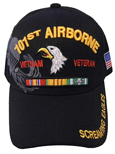 US Warriors Vietnam Veteran 101st Airborne U.S. Military Cap Hat Official Licensed