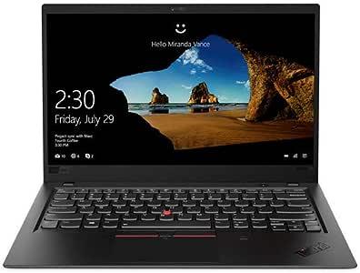 """Lenovo ThinkPad X1 Carbon 14"""" Full HD Laptop (1920x1080) Intel i5-8350U, 8GB RAM, 256GB SSD, Win10 Pro , Black"""