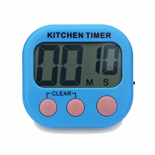 Digital Kitchen Timer, Feewer Large LCD Display, Loud Ala...