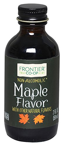 Frontier Co-op Maple Flavor, Non-Alcoholic, 2 ounce bottle -