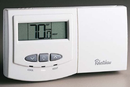 Robertshaw 9550 Deluxe Non-Programmable Thermostat 1H/1C - Deluxe Programmable Thermostat