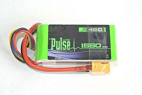 PULSE 1550mah 3S 11.1V 45C - LiPo Battery