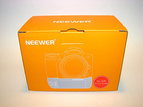 Neewer® Vertical Battery Grip Replacement for MB-D15 Works with EN-EL15 Battery or 6 Pieces AA Batteries for Nikon D7100 D7200 Digital SLR Camera (Battery Replacement Grip)
