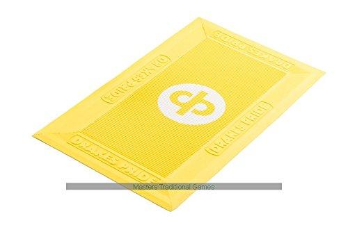Drakes Pride Regulation Bowls Foot Mats (Pack of 6, Yellow)