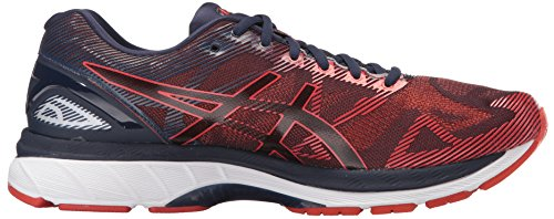ASICS Men's Gel-Nimbus 19 Running Shoe, Peacoat/Red Clay/Peacoat, 8 Medium US by ASICS (Image #7)