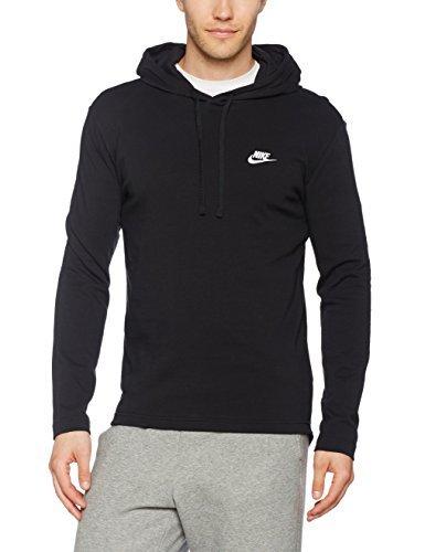 Men's Nike Sportswear Hoodie Black/White Size Small