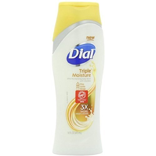 Dial Triple Moisture Body Wash 16 oz (Pack of 4)