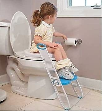 Baby Children Kids Potty Seat With step up Ladder Cover Toilet Folding Chair USA