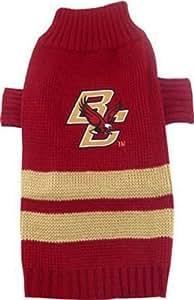 Pets First Collegiate Boston College Eagles Pet Sweater, Medium