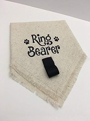 Wedding | Ring Bearer | Dog Bandana | Costume ()