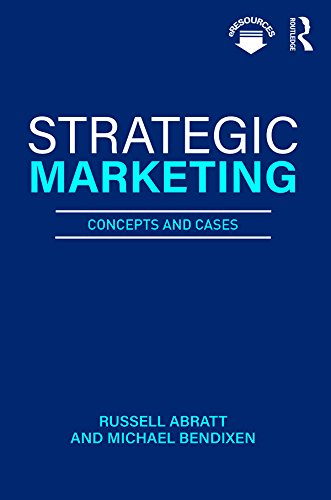 (Strategic Marketing: Concepts and Cases)
