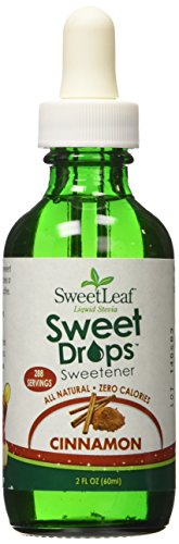 (Sweet Leaf Liquid Stevia Sweetner,  Cinnamon - 2 oz - Liquid)