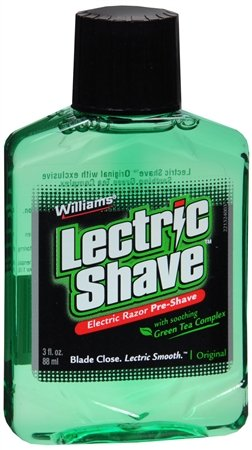 Lectric Shave Lectric Shave Electric Razor Pre-Shave Original, Original 3 oz (Pack of 6) (Shave Solution)