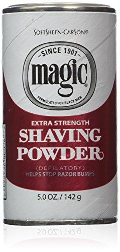 Magic Red Shaving Powder 5.0 oz. Extra Strength Depilatory (Depilatory Shaving Powder)