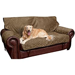 Solvit Loveseat Full Coverage Pet Bed Protector, Moss
