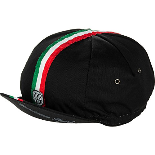 Giordana Sport Cycling Cap Black/Italia, One Size