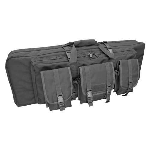 Condor Double Rifle Case (Black, 36 x 13 x 4.5-Inch), Outdoor Stuffs