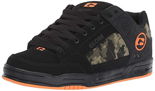 - Globe Men's Tilt Skate Shoe Black/camo/Orange 10 M US