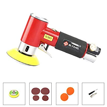 Power Tools Air Sander Kit 2 3 Mini Pad Eccentric Orbital Dual Action Pneumatic Polisher Polishing Buffing Tools For Auto Body Work To Assure Years Of Trouble-Free Service