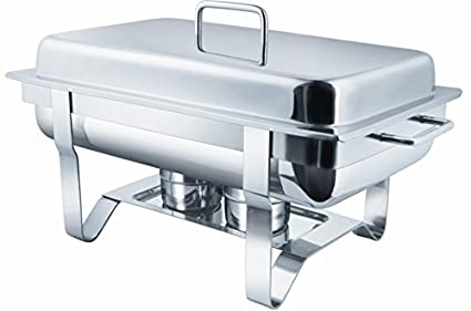 SUPERB PRODUCTS Stainless Steel Buffet Food Server/Chafing Dish 10 LTR