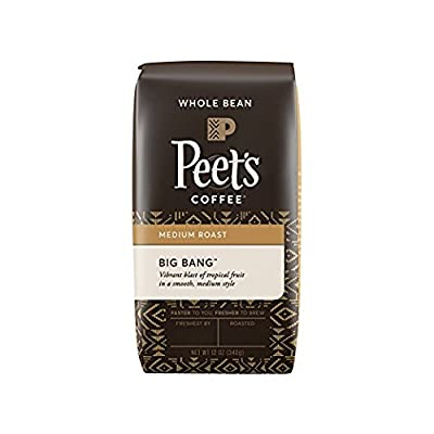 Peet's Coffee Big Bang Whole Bean Medium Roast Bag, 12 Ounce from Peet's Coffee