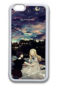 Anime Under The Stars Cute Hard For SamSung Galaxy S5 Case Cover Case Hard shell White Cases