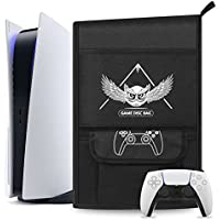 Esimen Capa protetora contra poeira para console PS5/PlayStation 5 Digital Edition, capa de viagem com controle PS5…