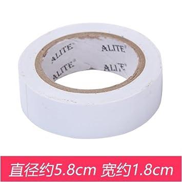 CWAIXX Plástico negro paños alambre eléctrico ignífugo cinta aislante eléctrica PVC Manta ignífuga impermeable de la
