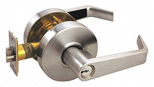 Lever Lockset,Mechanical,Storeroom,Grd.2