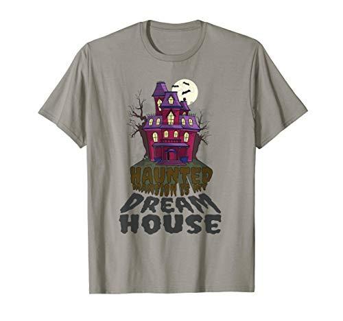 Halloween Haunted House Shirt Trick Treat Dream Mansion Wear]()
