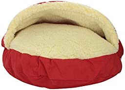 Snoozer Cozy Cave, Small, Red