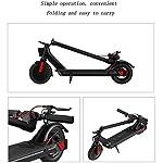 Monopattino-Elettrico-Scooter-Pieghevole-per-Adulti-Display-LCD-85-inch-Motore-da-350-W-Display-LCD-E-Roller-velocit-Massima-25KmHFacile-da-Piegare-E-Trasportareper-Adulti-E-Bambini