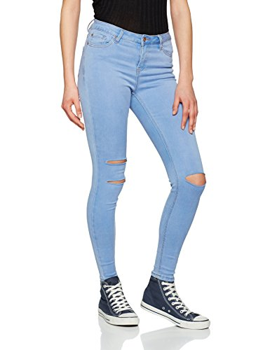 Look Denim Jeans Supersoft blue Blu New Donna 46 Skinny ASqw5dnCn6