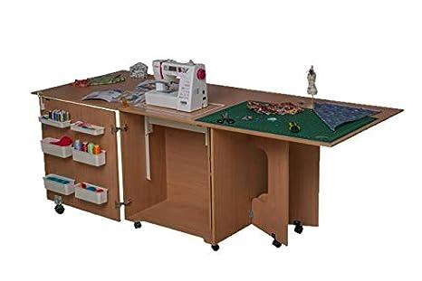 Comfort 1QL+ | Muebles para máquinas de coser y overlock | (Beech Ellmau)