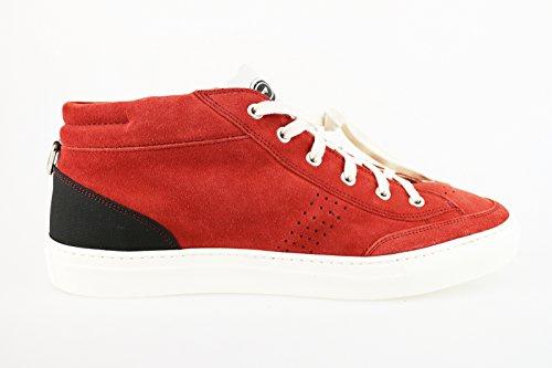 Hombre Ante Zapatillas Guardiani Rojo Para De x1qxHw0O