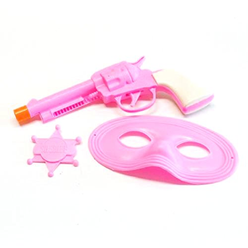 Pink Cowgirl Gun Set With Mask And - Creating Your Photo Booth Own