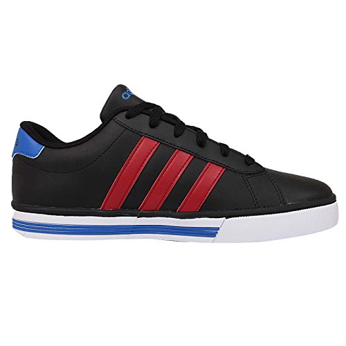 Adidas - Daily Team - F76621 - Color: Azul-Negro-Rojo - Size: 46.0