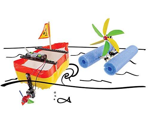 "TeacherGeek ""Build-a-Boat Electric Motor Boat STEM | STEAM Activity - 10 Pack"