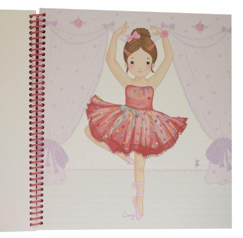 Princess Mimi 8302 Ballerina Malbuch Amazon De Spielzeug