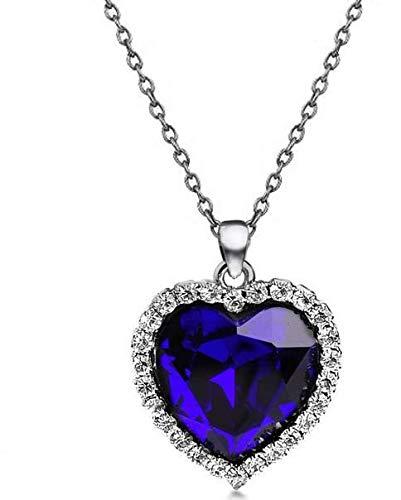 Ladies Fashion Titanic Blue Heart Of Ocean Crystal Bracelet Jewellery For Women