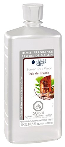 Lampe Berger Borneo Teakwood - 33.8oz/1L Case of 4 (4) by Lampe Berger