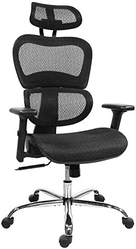 Rimiking Mesh Ergonomic Home Office Desk Chair High Back