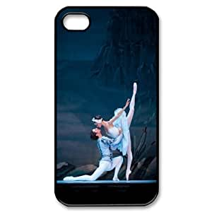 High Quality Phone Back Case Pattern Design 1Swan And Ballet- For Iphone 4 4S case cover