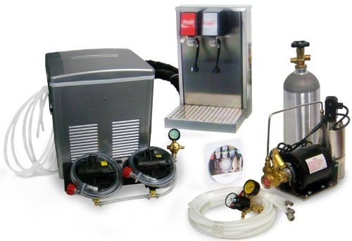 2-Flavor Soda Fountain Tower System with Remote Cooling