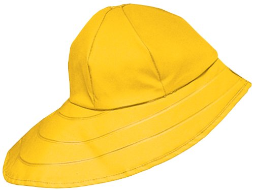 Dutch Harbor Gear Men's Sou'Wester Hat, Yellow, Large