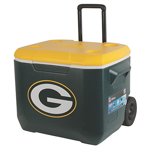 Coleman NFL 60 Quart Wheeled Cooler - Green Bay Packers Cooler