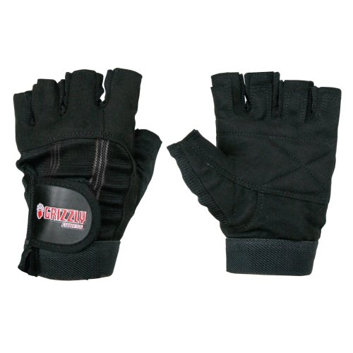 Grizzly Fitness Women's Sport and Fitness Washable Training Gloves, Small