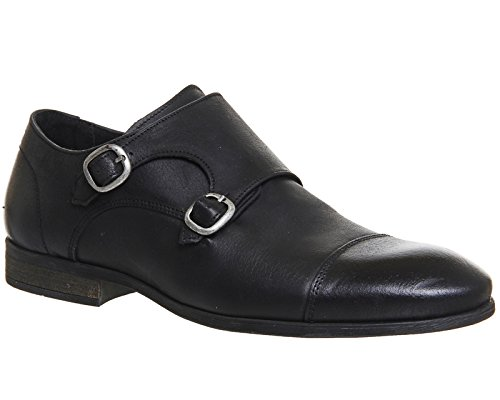 Ask The Missus , Herren Sneaker Black Washed Leather