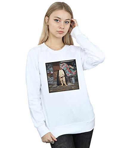 Mujer Blanco Fur De Notorious Big Absolute Entrenamiento Camisa Coat Cult PwqtzxIS